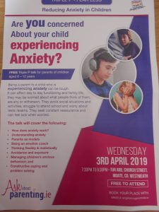 Talk on Anxiety and children